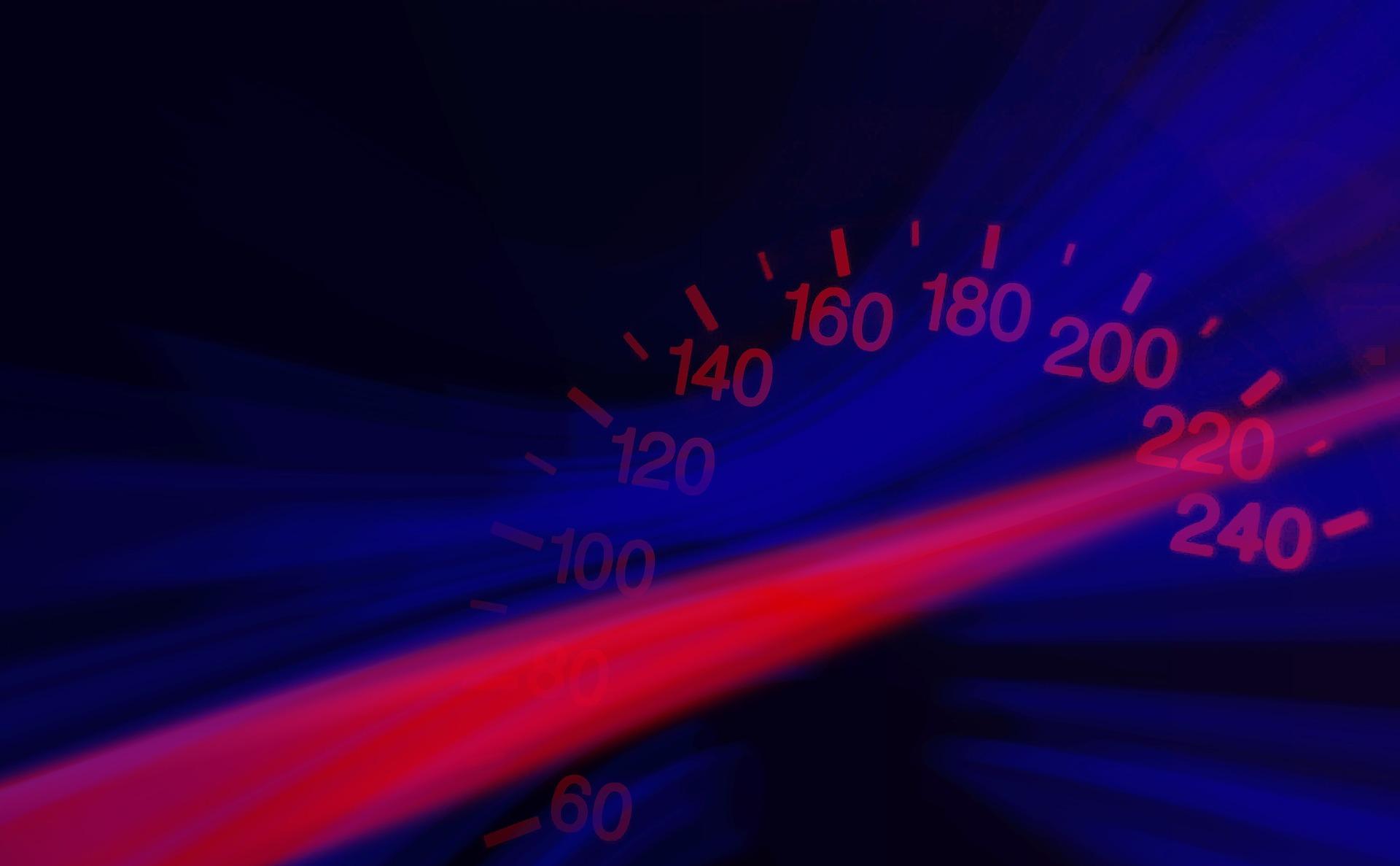 Spezielle Anforderungen an nächtliche Geschwindigkeitsmessungen