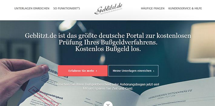 Geblitzt.de | unser Kooperationspartner 1